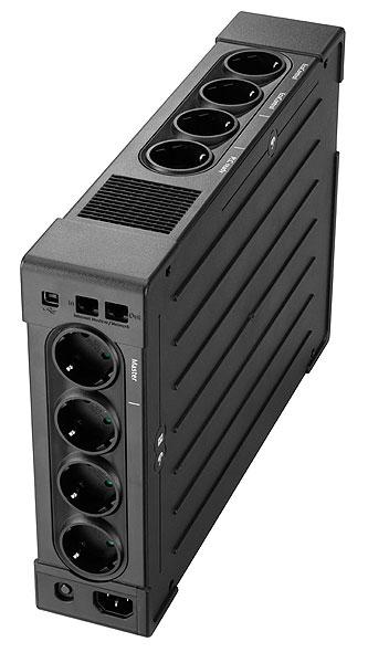 """Ellipse Pro 1600 UPS (230 V, 1000 Watt, 1600 VA, USB, 8 output connectors, 2U, 19"""", DIN)"""
