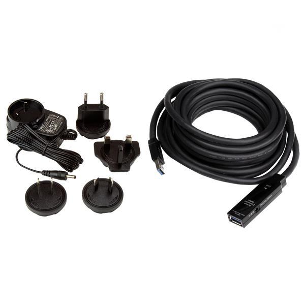 USB 3.0 Actieve verlengkabel M/F (5 meter)