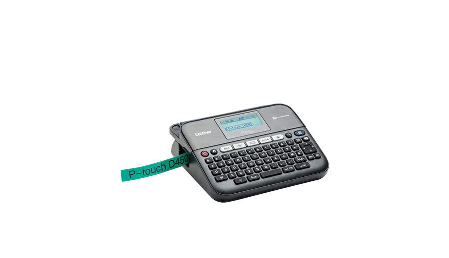 P-Touch PT-D450VP Labelmaker (monochrome, thermal transfer, rol 1,8 cm, 180 dpi, tot 30 mm/sec, USB)