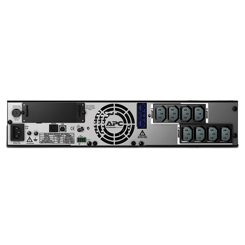 SMX1500RMI2U Smart UPS (PowerChute, 1500 VA, LCD, rack-mountable, 2U) + garantie-uitbreiding 3 jaar
