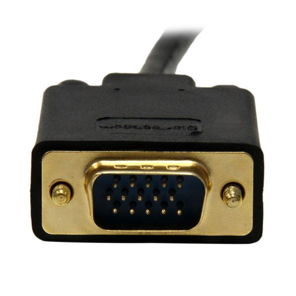 Mini DisplayPort naar VGA Adapterkabel (4,5 meter, 1920 x 1200, zwart)