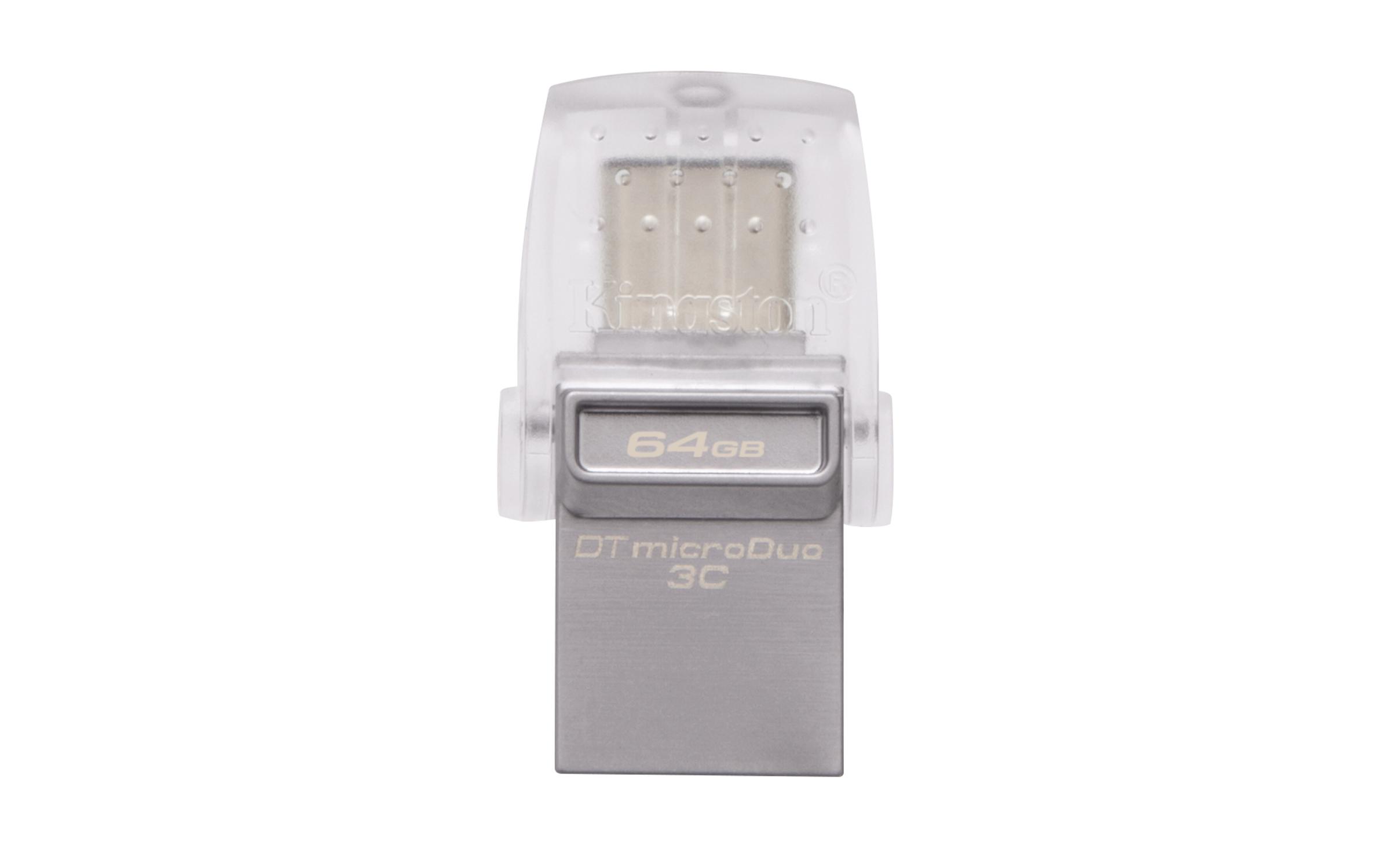 DTDUO3C/64GB DataTraveler microDuo 3C 64 GB (USB 3.1)