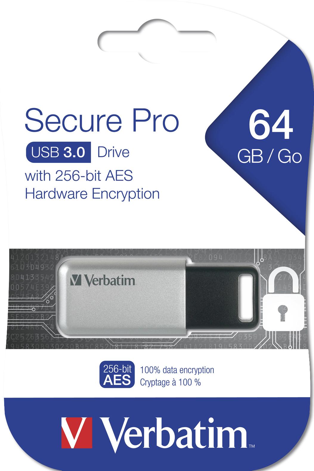 Store 'n' Go Secure Pro USB flash drive 64 GB (encrypted, USB 3.0)