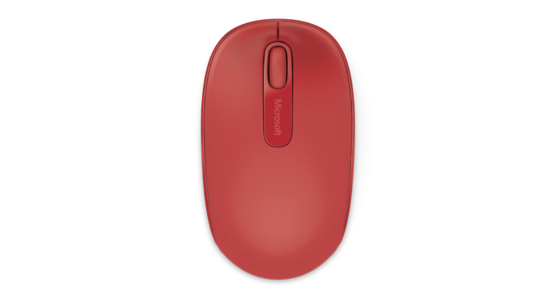 Wireless Mobile Mouse 1850 (USB, rood)