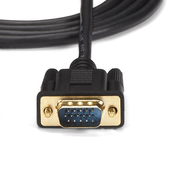 HDMI naar VGA actieve converterkabel (1,8 meter, 1920 x 1200, 1080p)