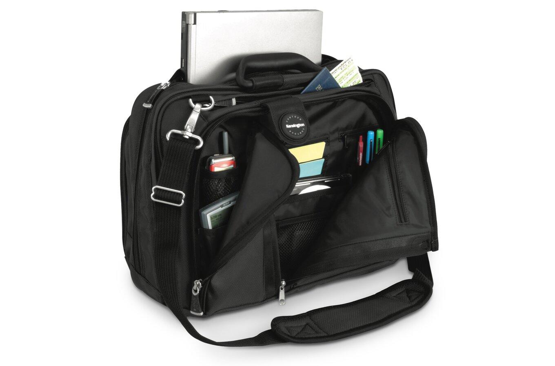 """Contour draagtas voor 15"""" notebook (zwart, nylon)"""