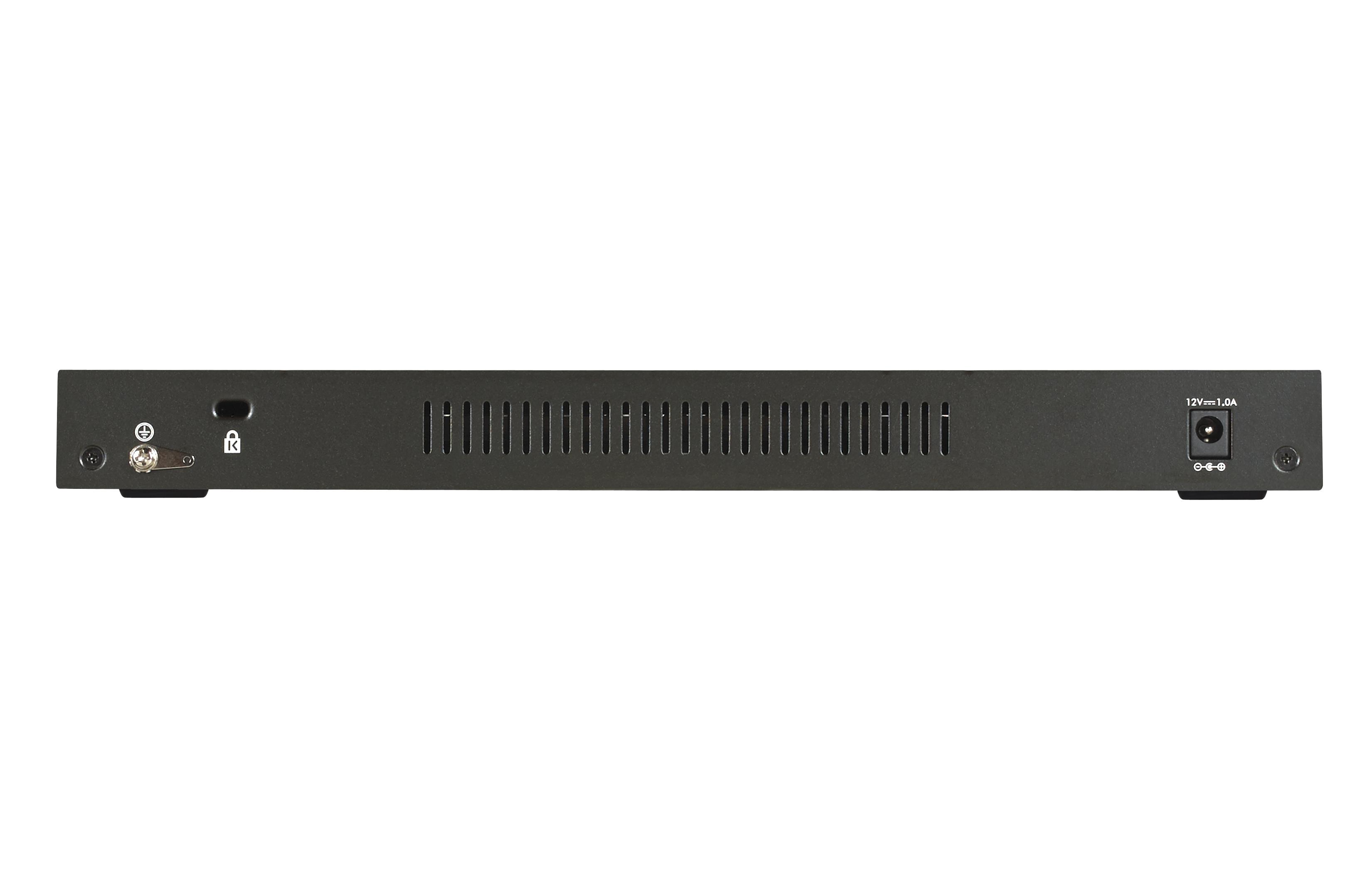 GS316-100PES Gigabit Ethernet Unmanaged Switch (16 poorten)