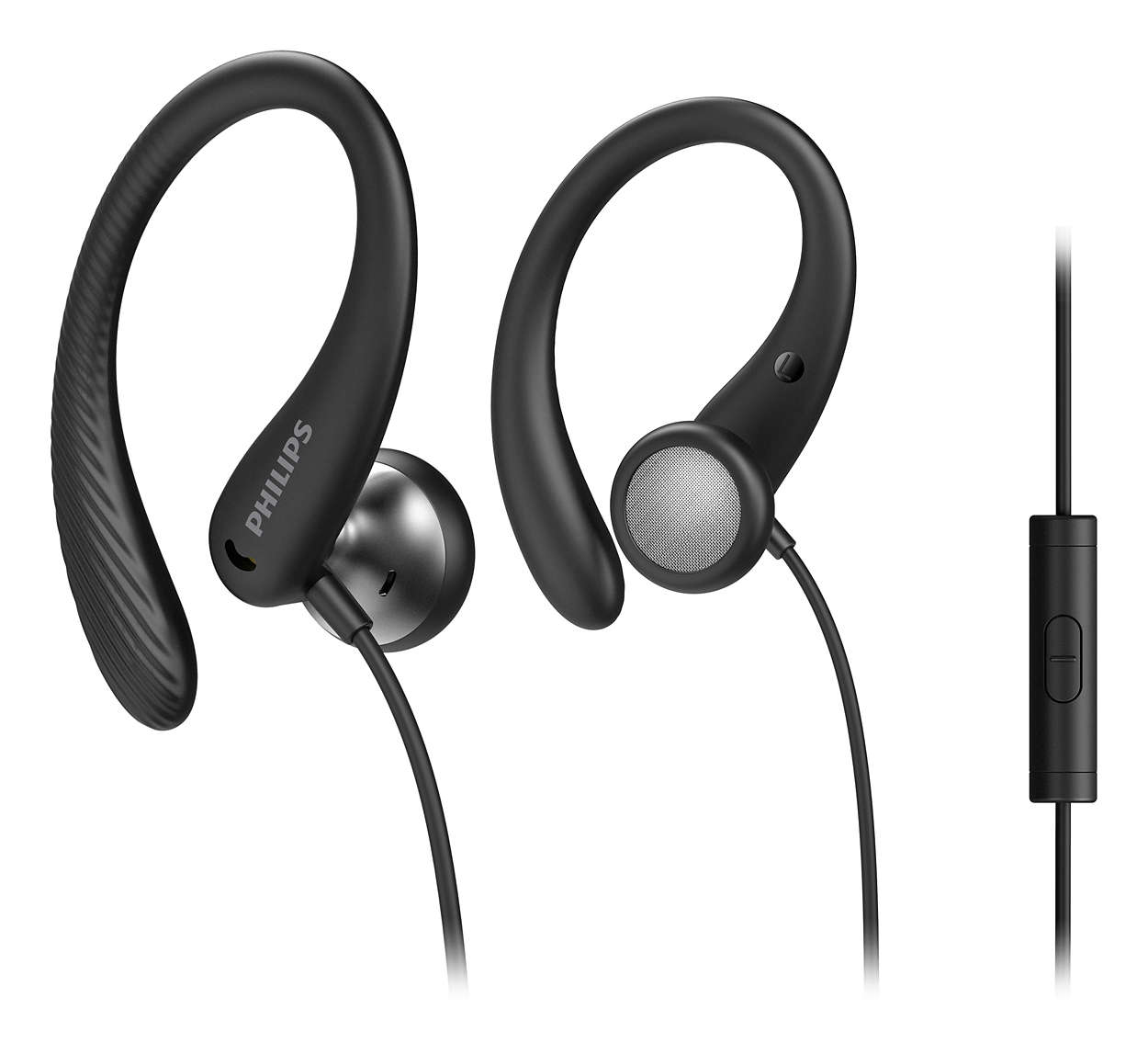 Sport earphone (incl. micro, zwart)