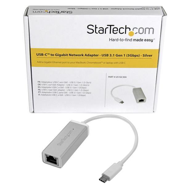 USB-C naar Gigabit Network Adapter