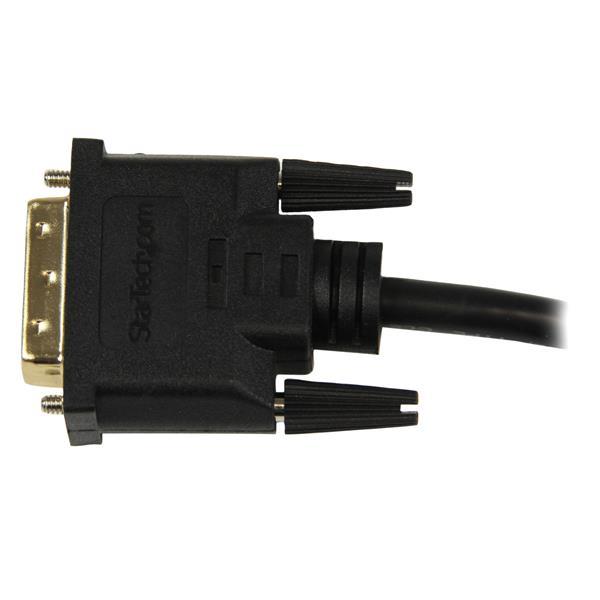HDMI F naar DVI-D M Adapter (20 cm, zwart)