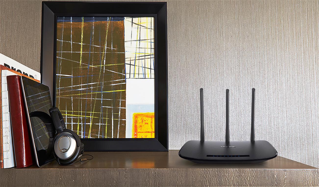 TL-WR940N Wireless N Router (450 Mbps, 802.11b/g/n, 3 vaste antennes)