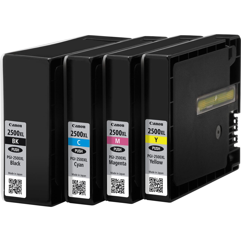 PGI-2500 BK/C/M/Y inkjetcartridges multipack