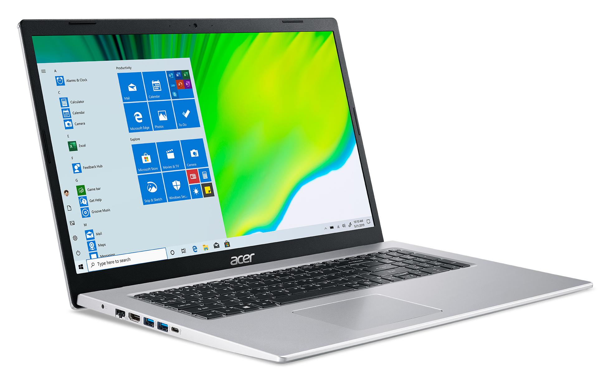 """Aspire 5 A517-52-522S (Intel Core i5-1135G7, 17,3"""" Full HD IPS, 8 GB DDR4, 512 GB PCIe SSD, Windows 10)"""