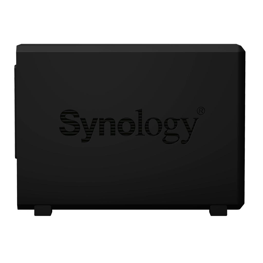 DS218play NAS server (2 bays, SATA 6 Gb/s, RAID 0, 1, JBOD, 1 GB, Gigabit Ethernet, iSCSI)