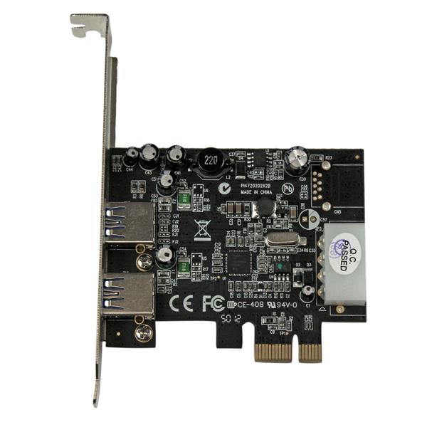 PCI Express SuperSpeed USB 3.0 Adapter (UASP LP4 Power)