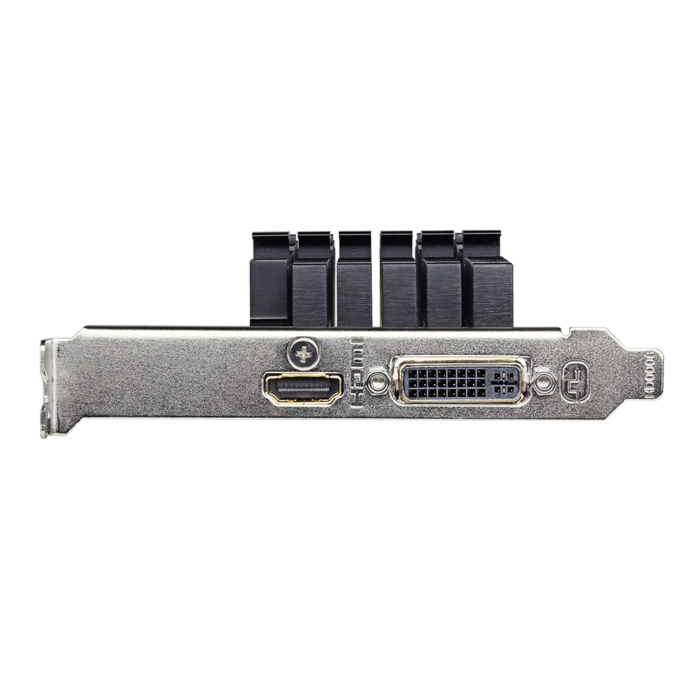 GV-N710D5SL-2GL Geforce GT 710 (2 GB GDDR5, PCIe 2.0 x8, low profile, DVI, HDMI, fanless)