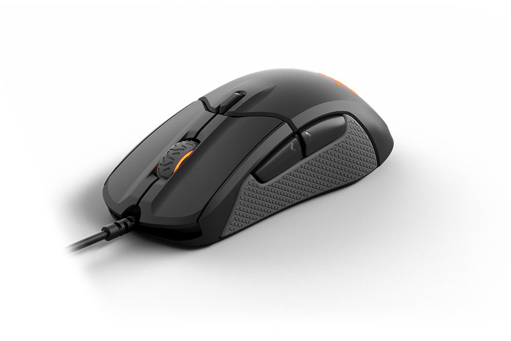 Rival 310 Ergonomic Mouse (6 knoppen, 12.000 dpi)