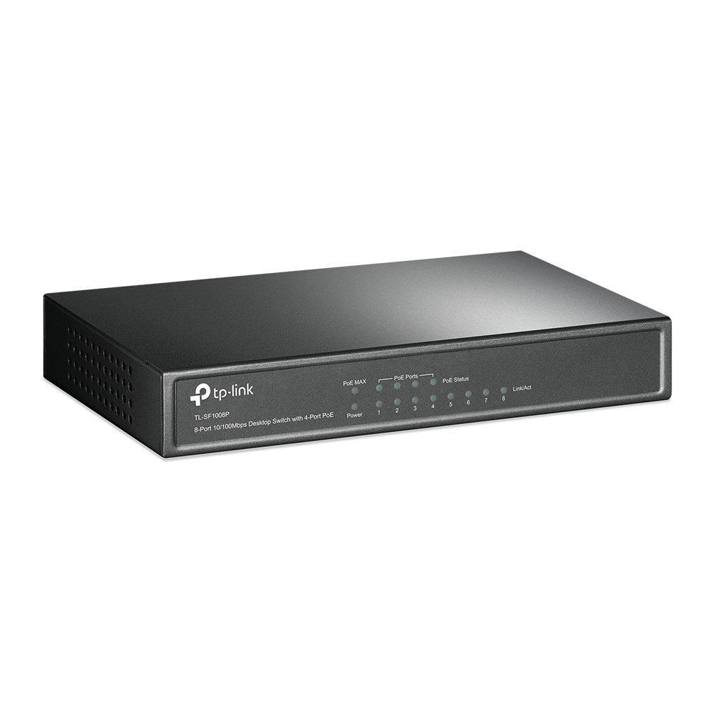TL-SF1008P Switch (8 poorten, power over Ethernet)