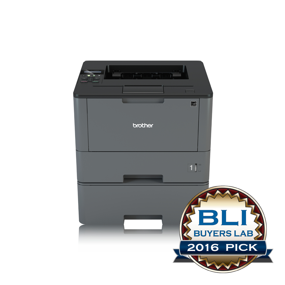 HL-L5100DNT Laserprinter (A4, duplex, 128 MB, 40 ppm, 1200 x 1200 dpi, USB 2.0, LAN)