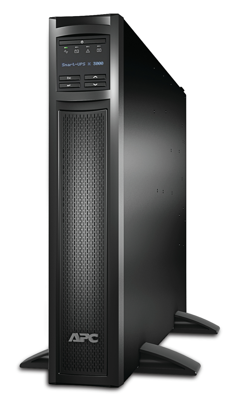 SMX3000RMHV2UNC Smart-UPS X (3000 VA, Rack/Tower, LCD, 2700 Watt, 3000 VA, Ethernet 10/100, RS-232, 9 output connectors, 2U)