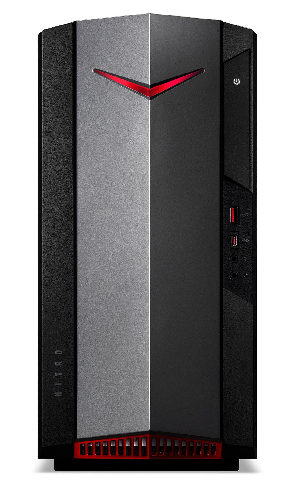 Nitro N50-620 I9206 (Intel Core i5-11400F, 16 GB DDR4, 512 GB PCIe NVMe SSD + 1000 GB HD, GeForce GTX 1650 4 GB, Windows 10 Home)