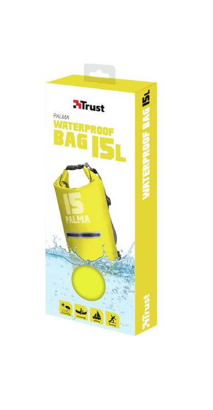 Palma Waterproof Bag 15L (geel)