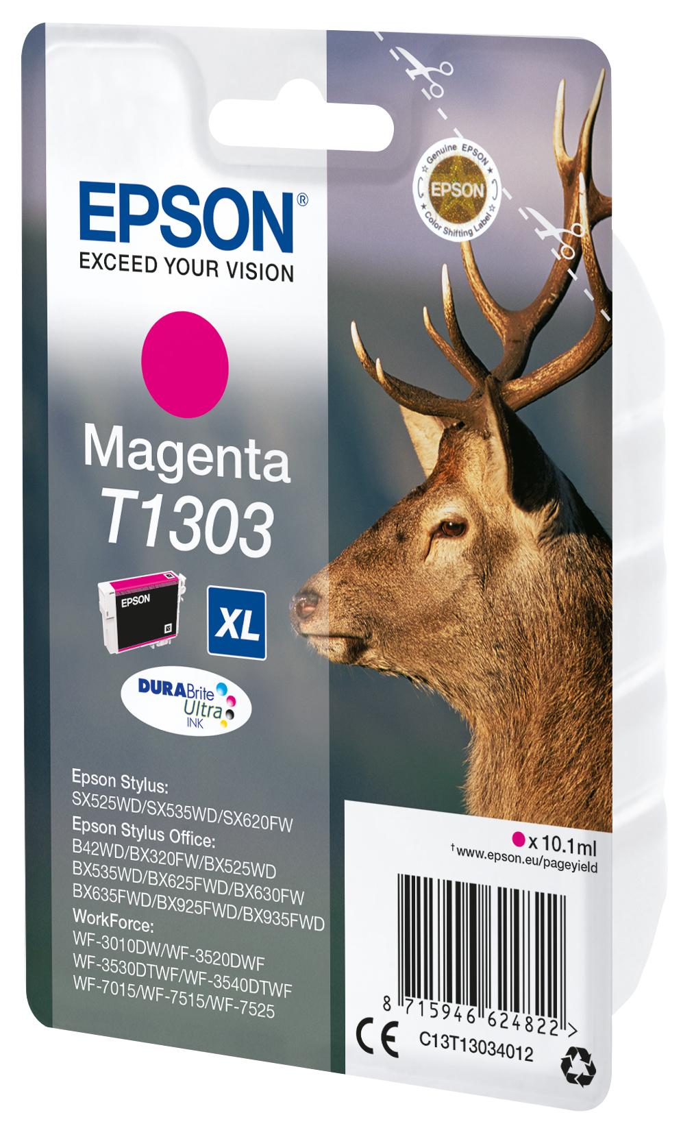 T1303 inkjetcartridge magenta (765 afdrukken)