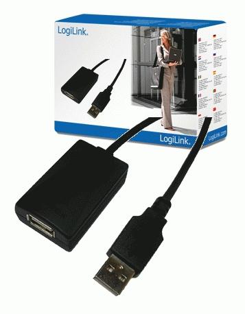 USB 2.0 Repeaterkabel M/F (actieve verlenging, 5 meter)