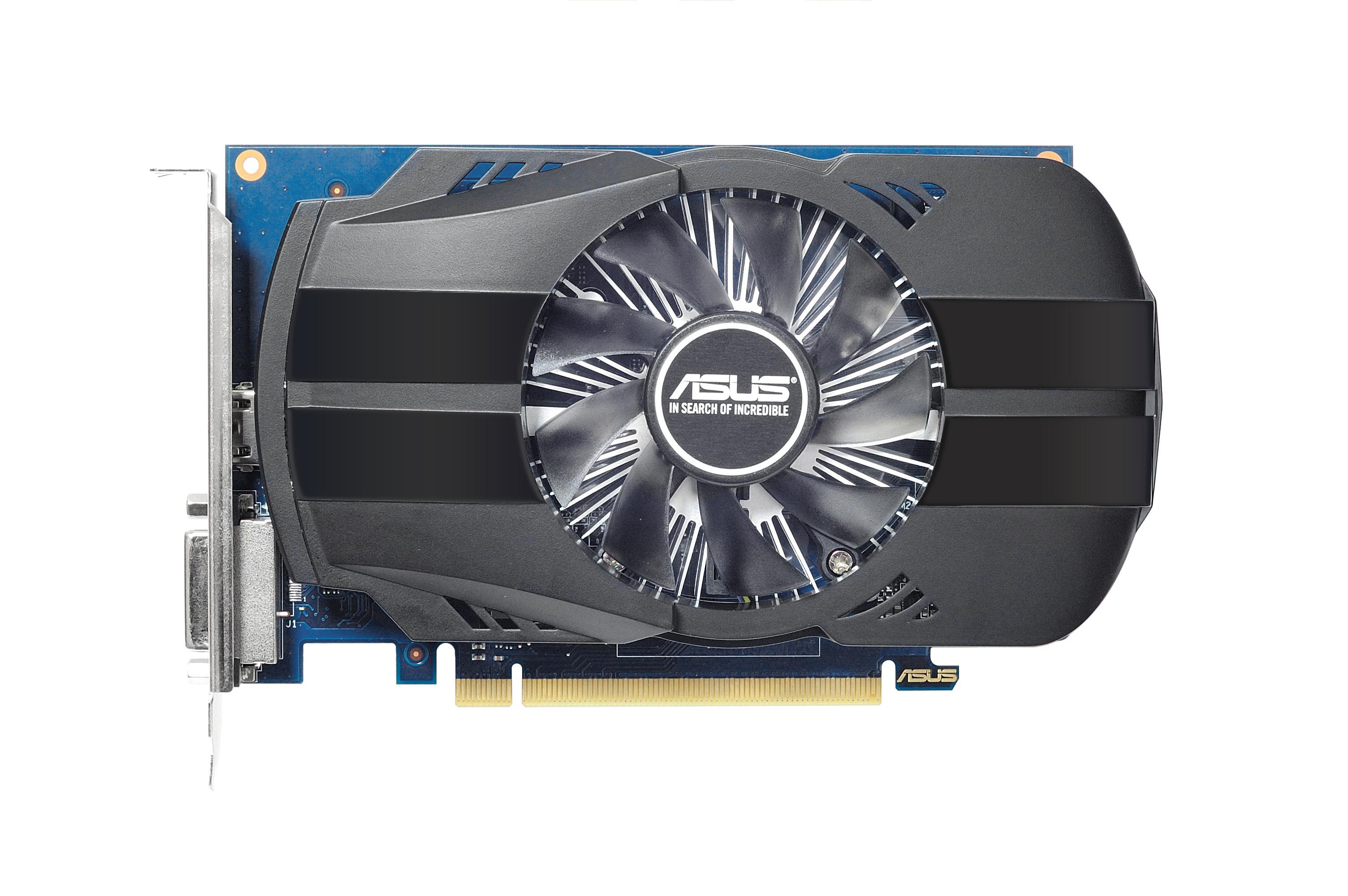 PH-GT1030-O2G OC Edition Geforce GT 1030 (2 GB GDDR5, PCIe 3.0 x16, DVI, HDMI)