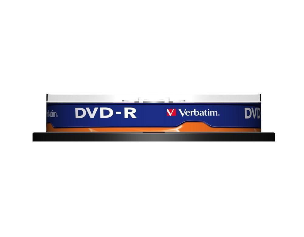 DVD-R 4,7 GB 16 speed (10-spindel)