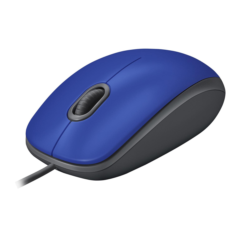 M110 Silent Mouse (blauw, USB)