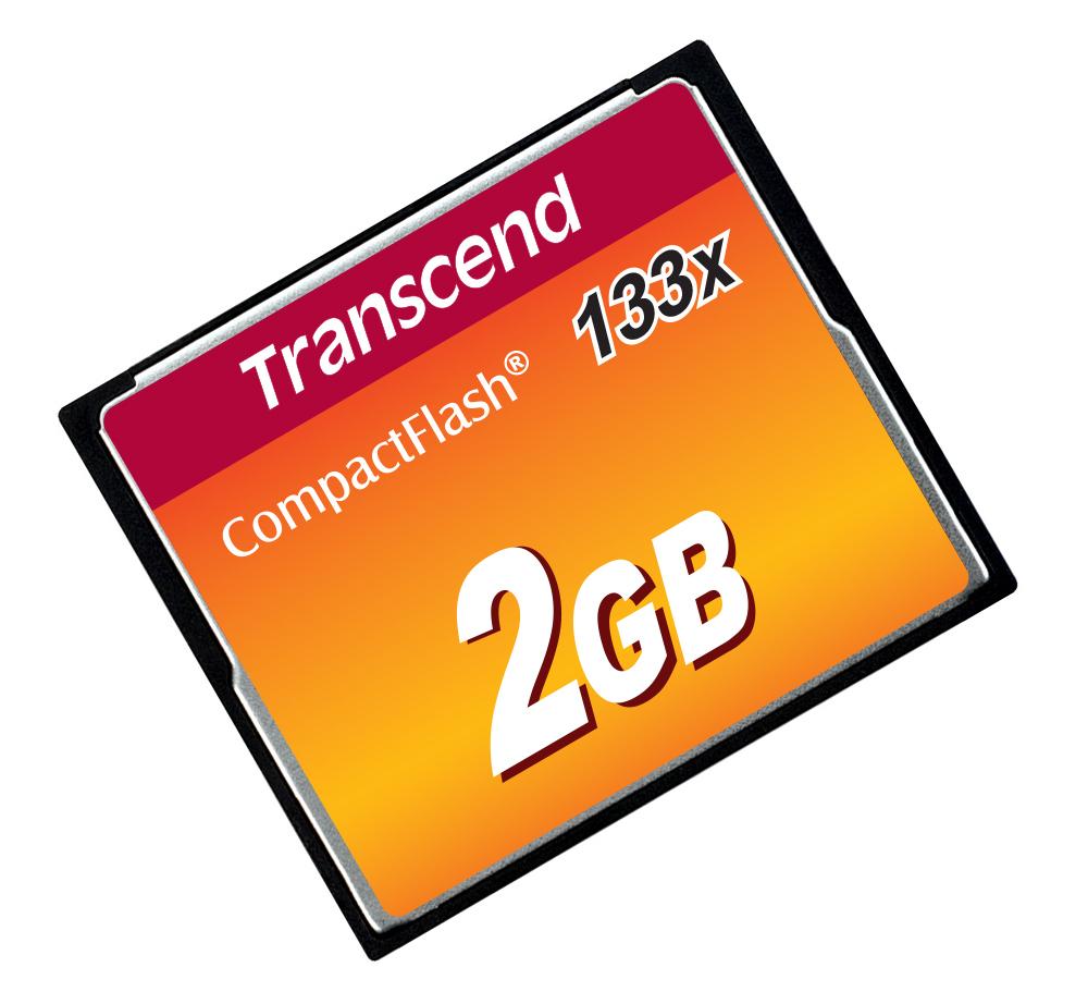 TS2GCF133 Compact Flash 2 GB (133 speed)