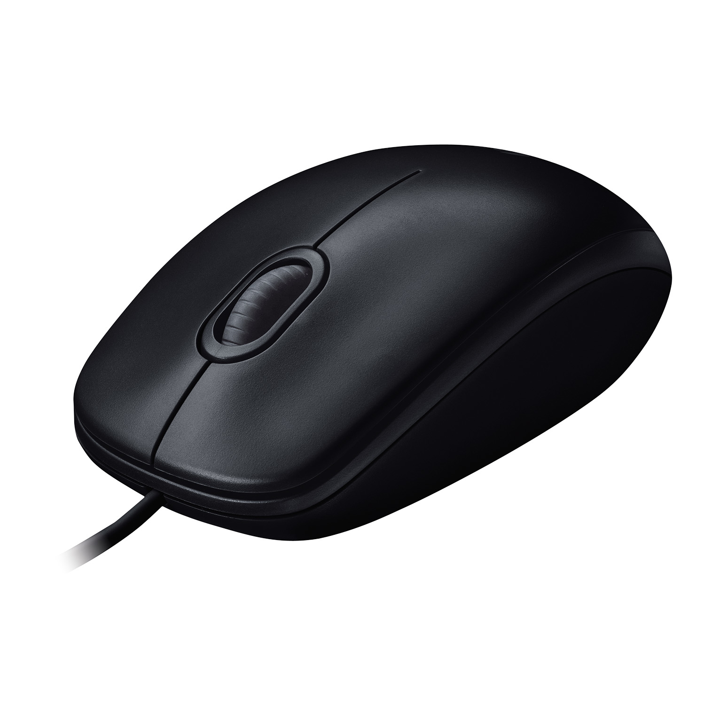 M100 Optical Mouse (3 knoppen, 1000 dpi, zwart)