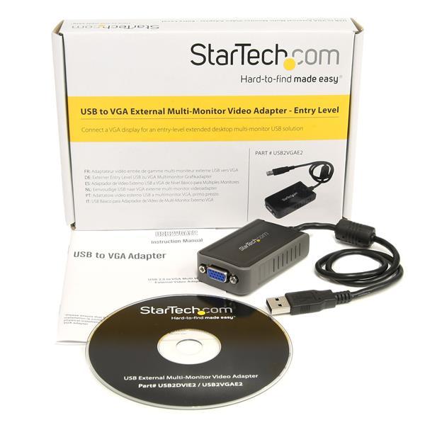 USB VGA External monitor video adapter