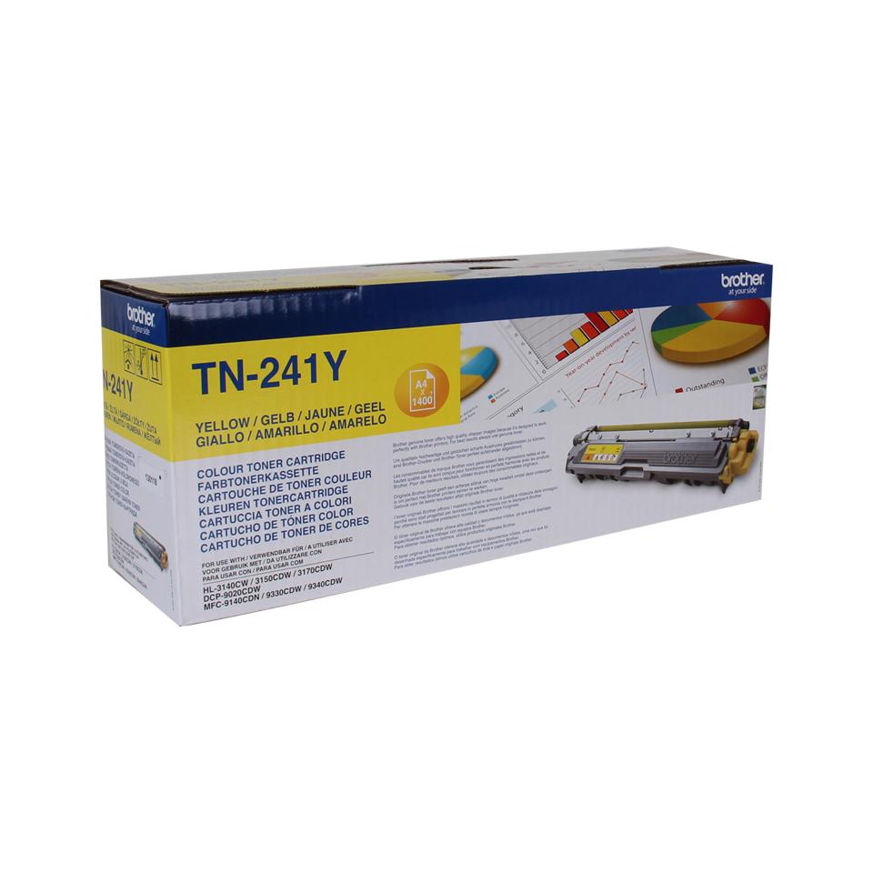 TN-241Y toner geel (1400 afdrukken)