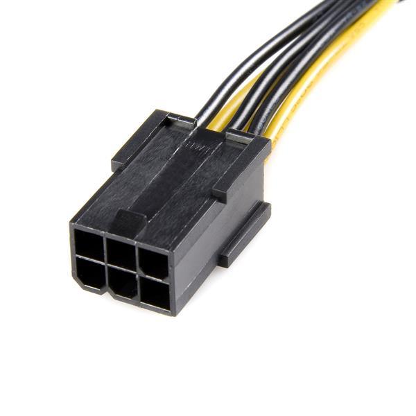 PCI Express 6-pin naar 8-pin voedingskabel