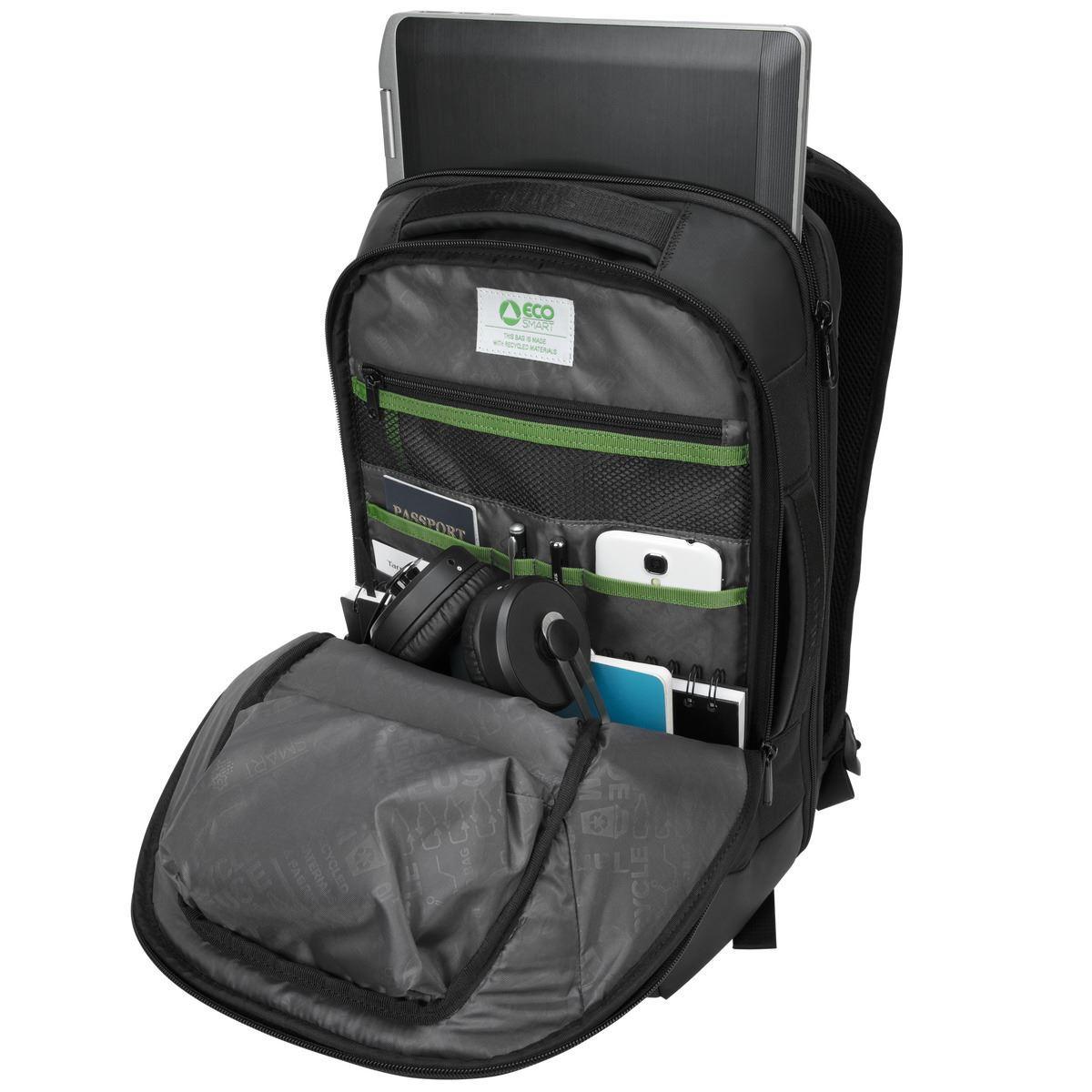 """Balance EcoSmart Notebook carrying backpack (14"""", zwart)"""