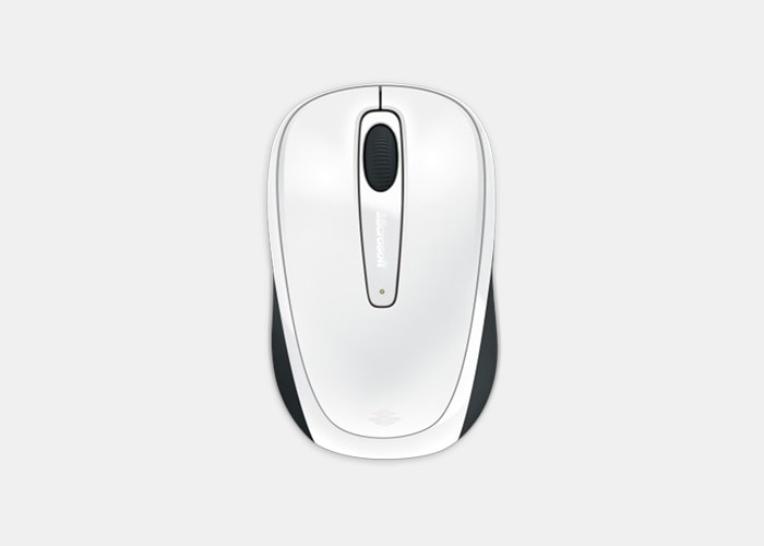 Wireless Mobile Mouse 3500 (wit)