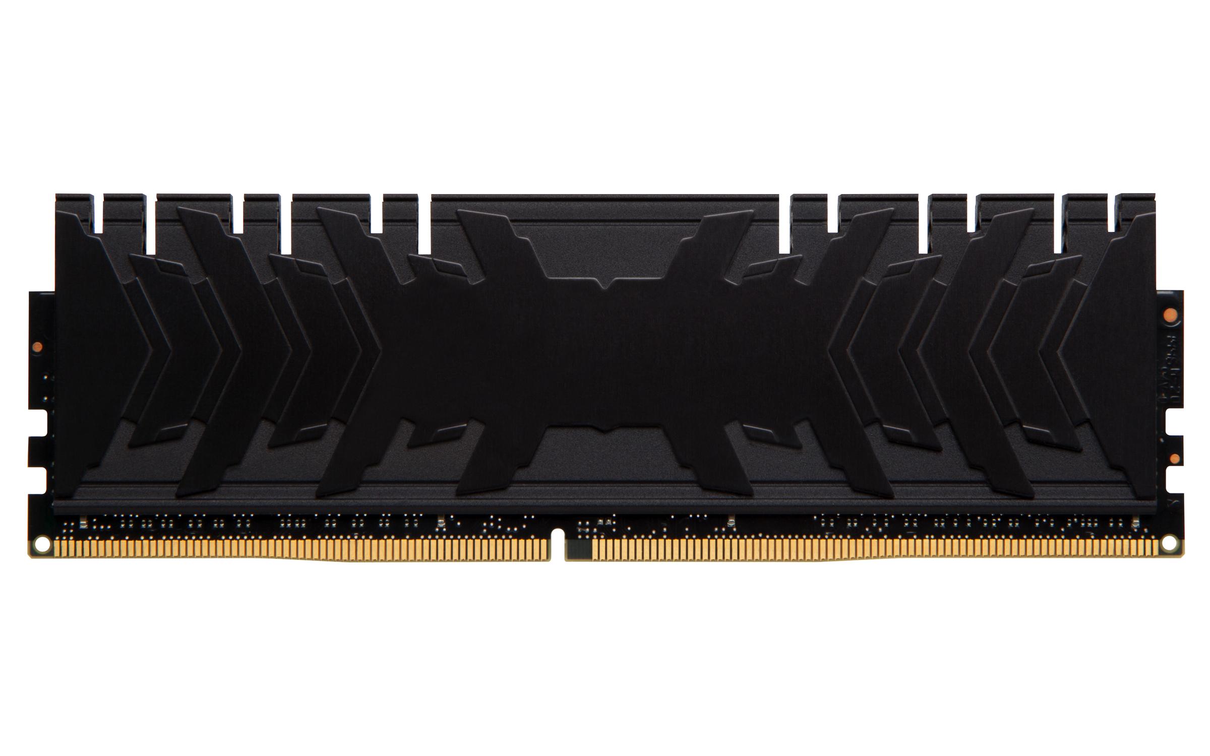 HX432C16PB3K2/16 HyperX Predator DDR4, 16 GB, DIMM 288-pin, 3200 MHz, PC4-25600, CL16 (2 x 8 GB)