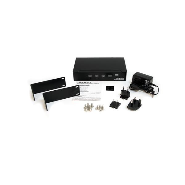 4-poort HDMI 1.3 Audio/Video Splitter