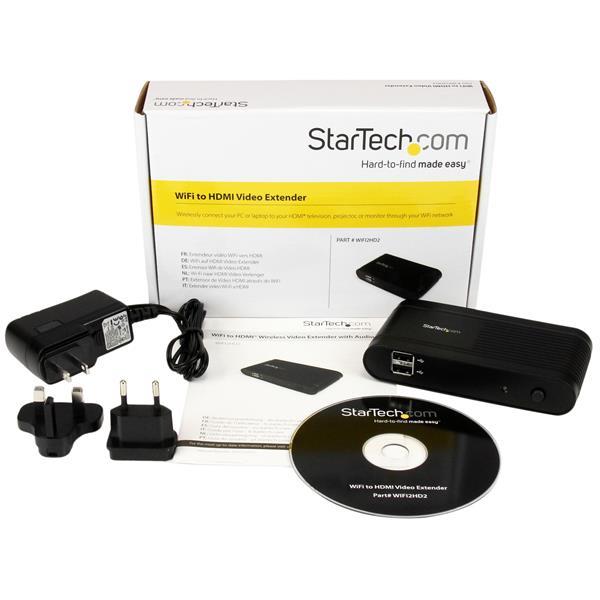 WiFi HDMI video extender (met audio, HD)